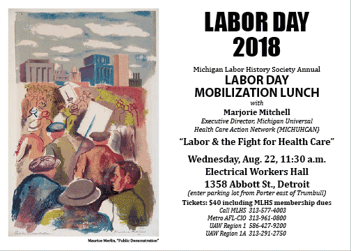 2018 Labor Day Mobilization Lunch